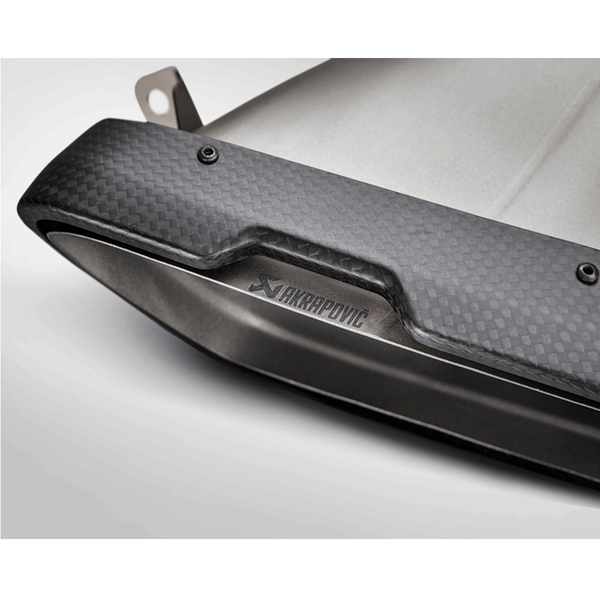 Akrapovic 2015 Mercedes Benz GT Roadster (R190) Evolution Line Cat Back (Titanium) w/ Carbon Tips