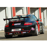 Akrapovic 06-09 Porsche 911 GT3/RS 3.6 Evolution Race Line w/ Header (Titanium) w/ Titanium Tips