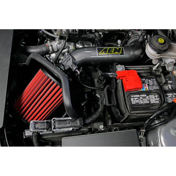 AEM 2016 Honda Civic 2.0L L4 Gunmetal Cold Air Intake (Will Not Fit Type R Models)