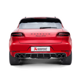 Akrapovic 2014 Porsche Macan Turbo (95B) Evolution Line Cat Back (Titanium) w/ Titanium Tips
