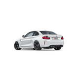 Akrapovic 16-17 BMW M2 (F87) Evolution Line Cat Back (Titanium) w/ Carbon Tips