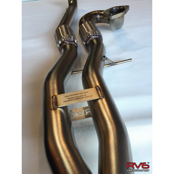 RV6 Long Tube Jpipe for 15+ TLX FWD (3.5L)