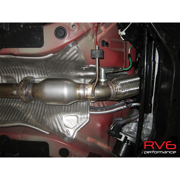 RV6 12-15 Civic SI Bellmouth Downpipe Kit