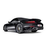 Akrapovic 14-15 Porsche 911 Turbo/Turbo S (991) Slip-On Line (Titanium) w/ Carbon Titanium Tips