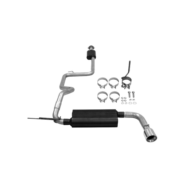 Flowmaster 12-14 Focus Hb Force Ii Cat-Back System 409S - Single Rear Exit