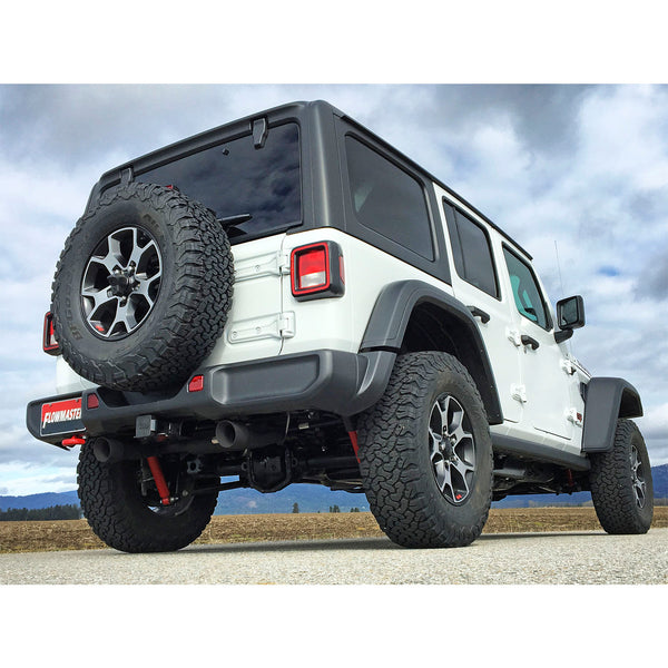Flowmaster 2018 Jeep Wrangler JL 3.6L Outlaw Series 409S Axle Back Exhaust Kit