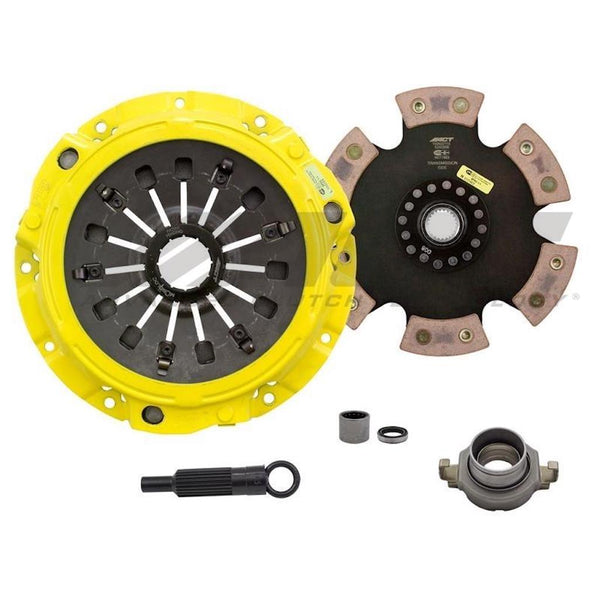 ACT 1993 Mazda RX-7 XT-M/Race Rigid 6 Pad Clutch Kit