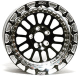 Belak Industries GTR 17x10 Rear Drag Racing Wheels