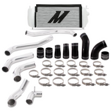 Mishimoto 2017+ Ford F150 3.5L EcoBoost Performance Intercooler Kit - Silver Cooler Black Pipes