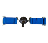 NRG 4PT 2in. Seat Belt Harness / Cam Lock - Blue