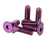 NRG Steering Wheel Screw Upgrade Kit (Conical) - Purple