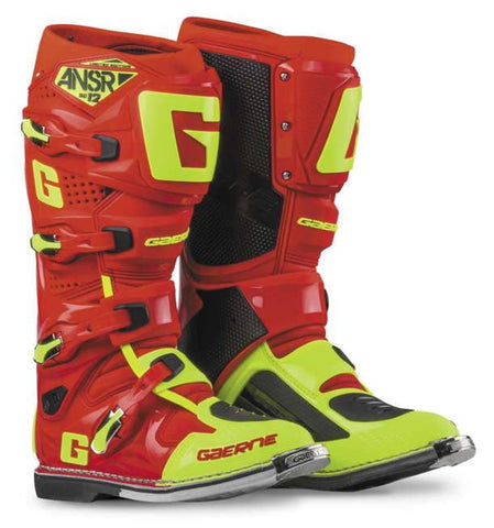Ansr Sg12 Boot Red Hivisyel 8