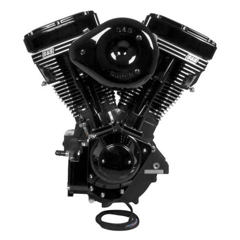"124"" Long Block Engine Blk"