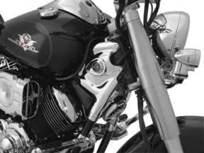 Kuryakyn Neck Cover for Yamaha V-Star