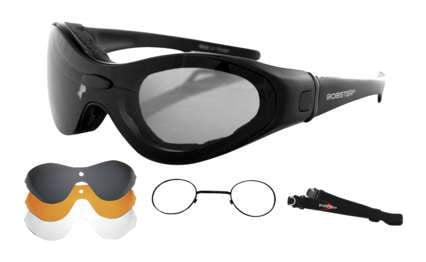 Bobster Spektrax Interchangeable Goggles / Sunglass with Optical Insert