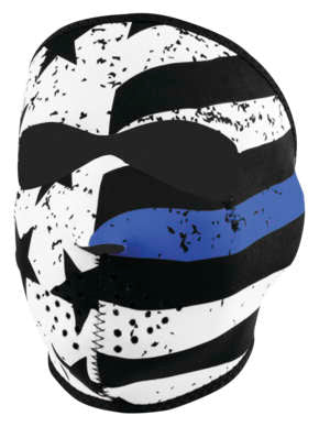 Zan Headgear Thin Blue Line Full Mask