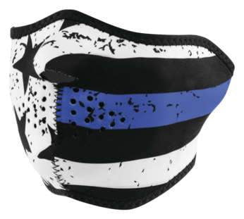 Half Mask Neo Thin Blue Line