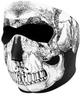 Zan Headgear Neoprene Full Face Skull Masks