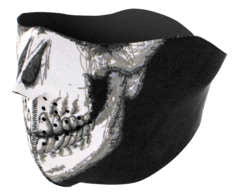 Zan Headgear Neoprene Half Face Skull Mask