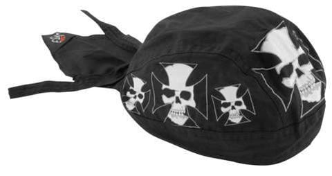 Flydanna Iron Cross Skull