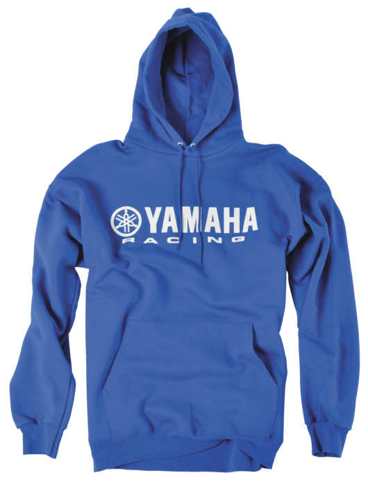 Yamaha Racing Hoody Blu Md