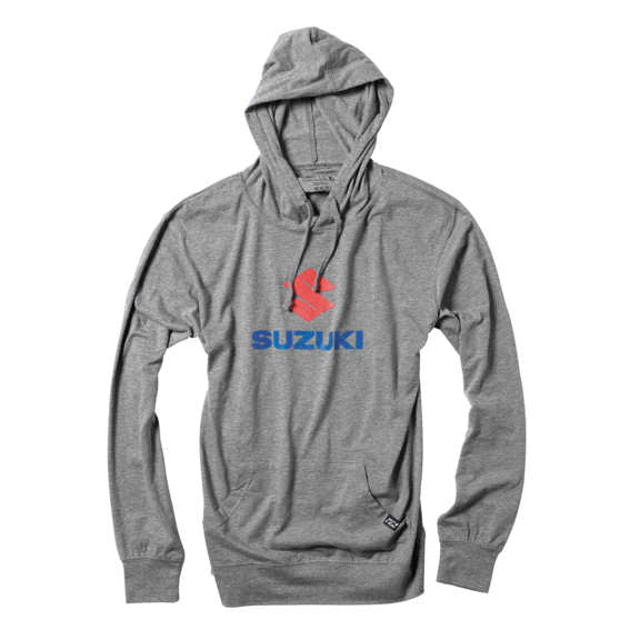 Suzuki Stacked Hoody Gry Md