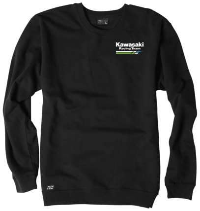 Kawasaki Racing Swtsht Blk Md