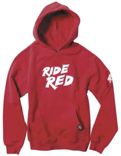 Honda Ride Red Hoody Red Ysm