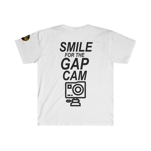 """GAP CAM"" Men's Fitted Short Sleeve Tee"