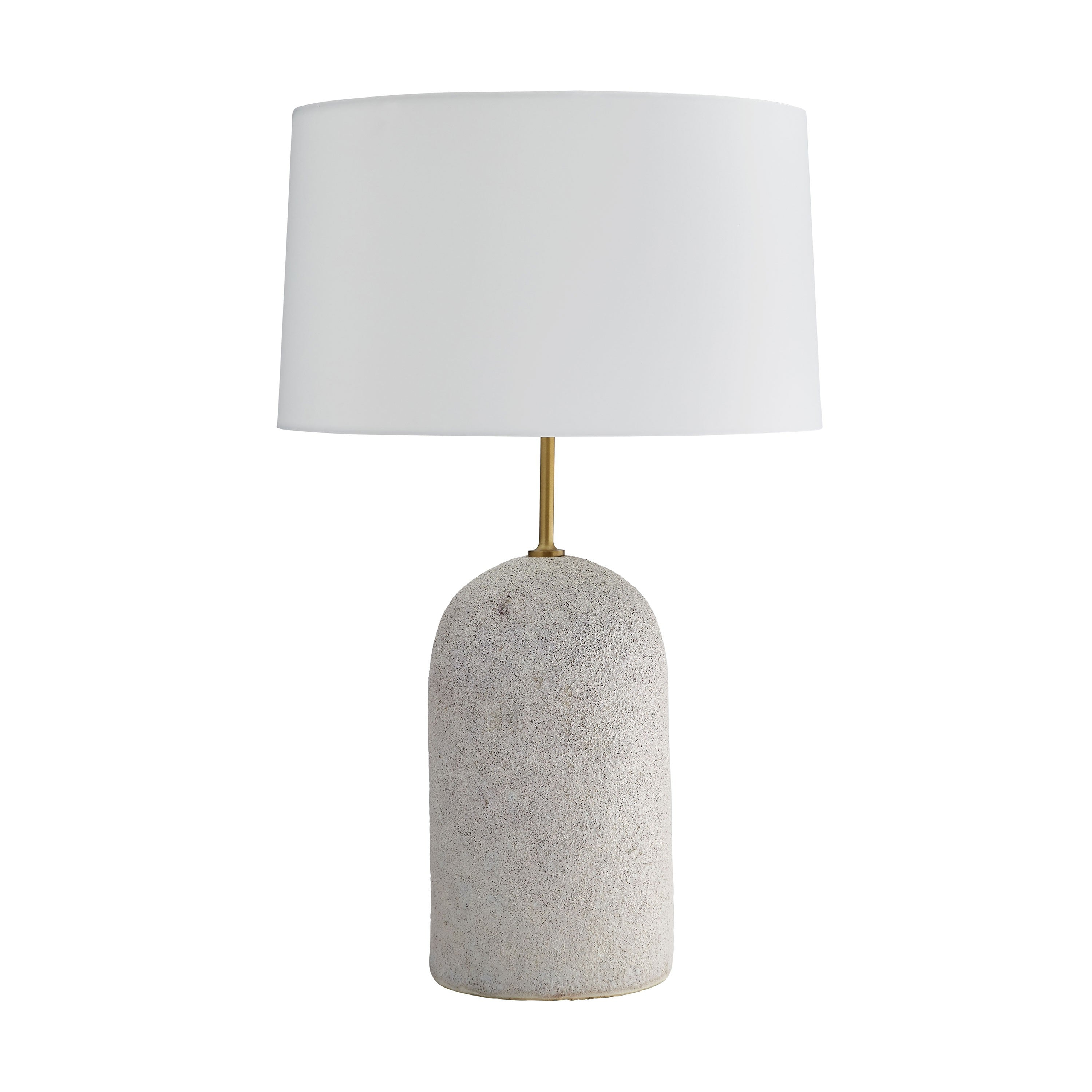 ceramic glazed table lamp