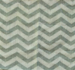 Filigree Chevron in Gray