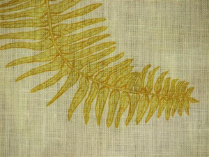 Fern Star in Yellow