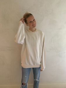 favorite sweatshirt- ivory