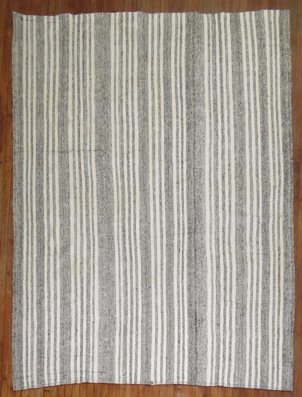 Striped Vintage Turkish Kilim