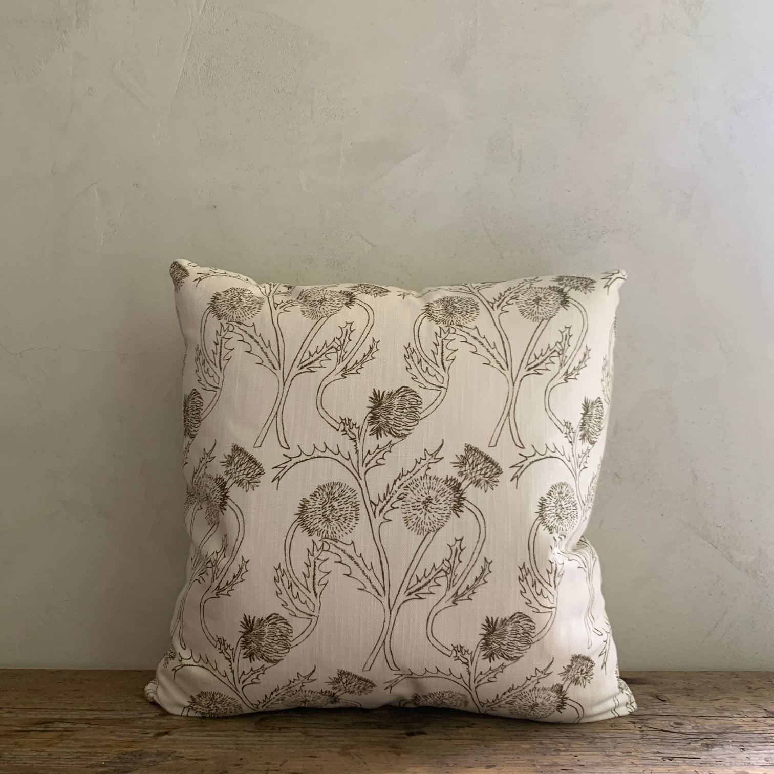 "LL textiles  ""thistle"" pillow"