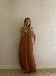 day-to-night dress- clay
