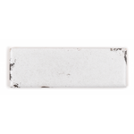 potters 2X6 matte ceramic tile- enamel white