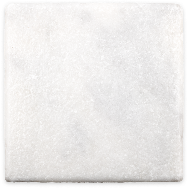 veranda 10x10 marble tile- antiqued white