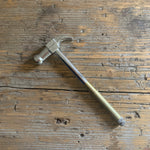 nickel + brass handy hammer