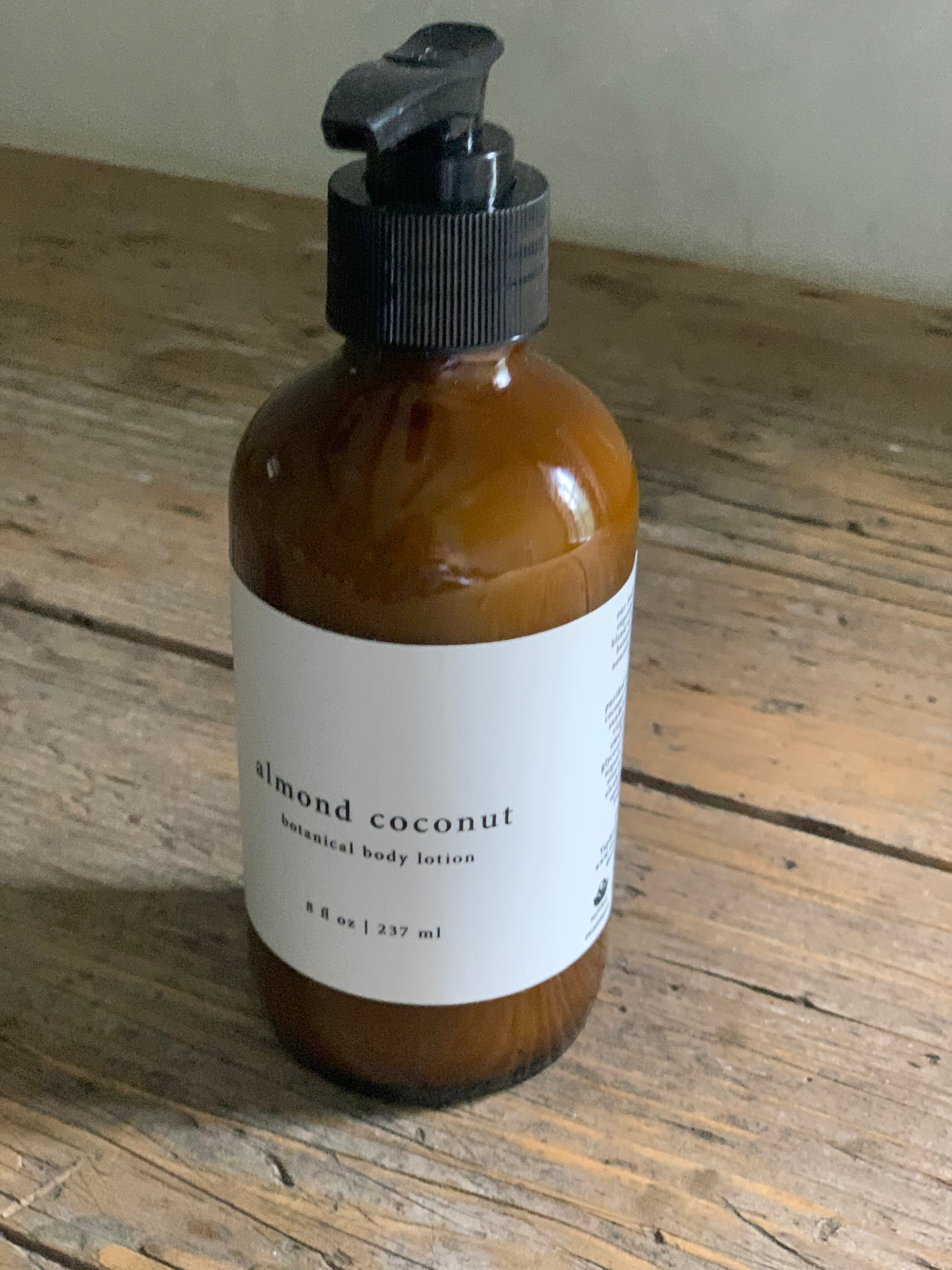 almond coconut body lotion