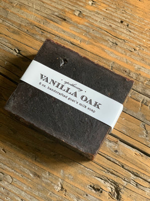 vanilla oak soap