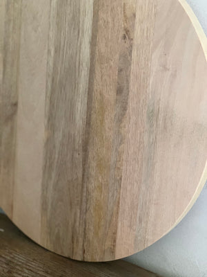 large round cutting board