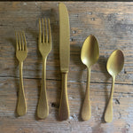 italian flatware- 5 piece setting