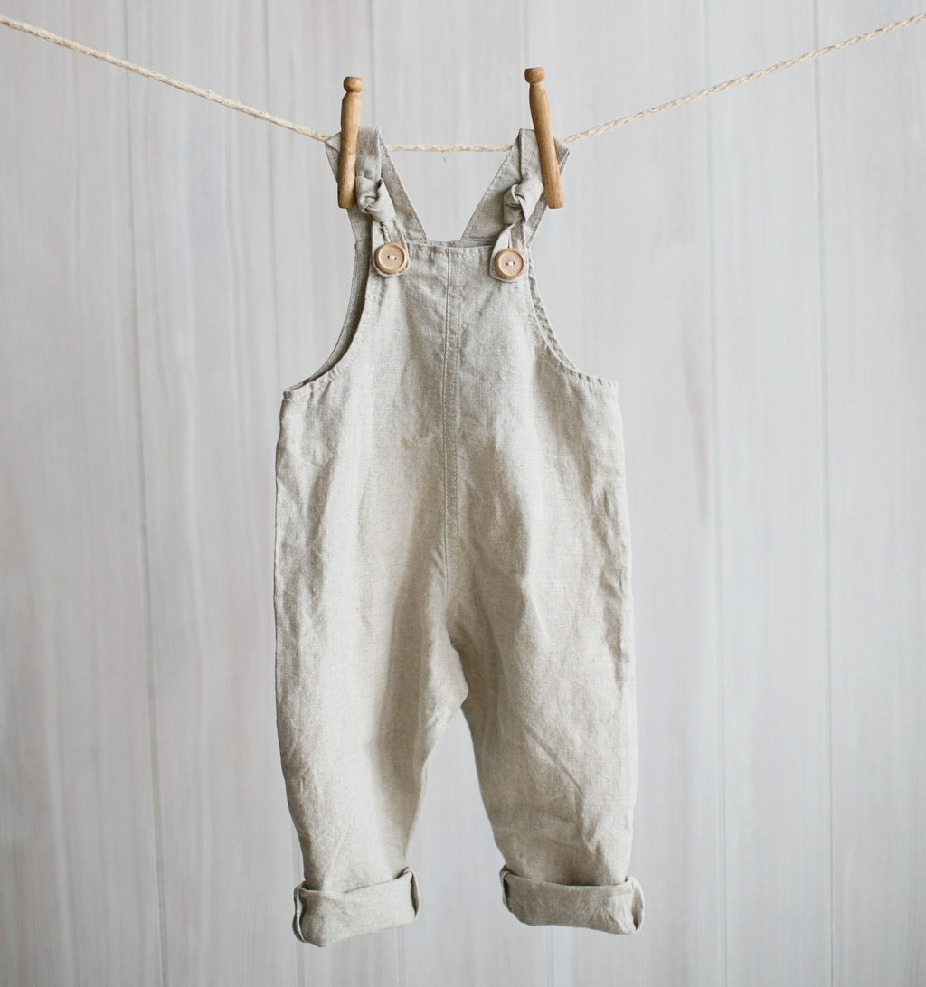 flax dungarees