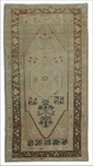 "vintage turkish kars- 3' 1"" x 5' 10"""