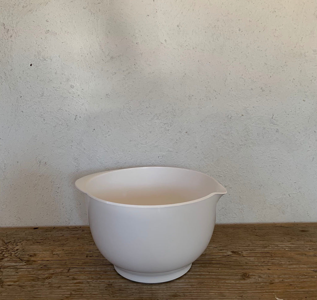 3 liter mixing bowl - white