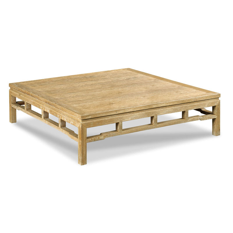 "Modern Ming Table - 60"" Square"