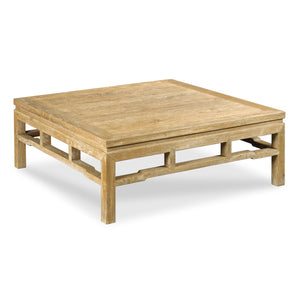"modern ming coffee table- 42"" square"