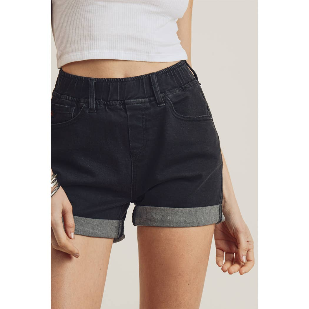 denim summercamp shorts