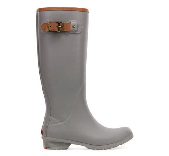tall rainboots- stone